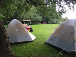 Camp site in Hertfordshire