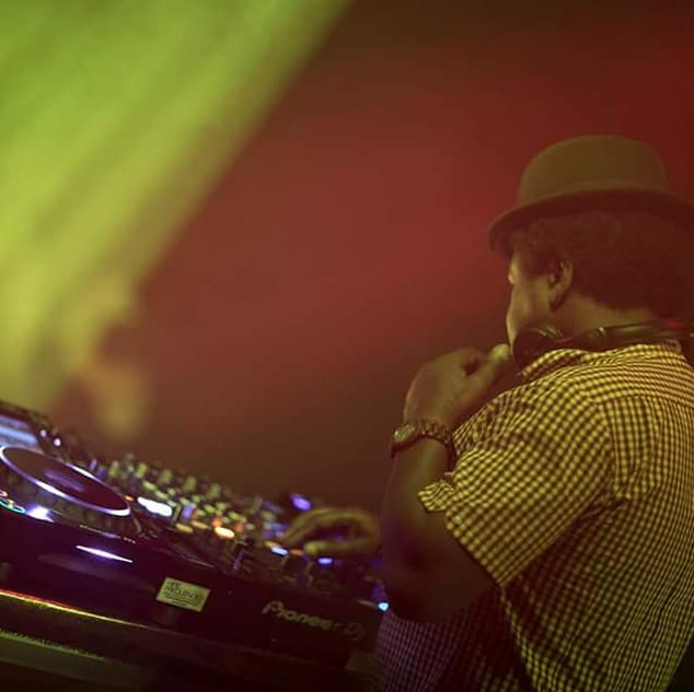 DJ Norman Jay ;MBE' in St Albans