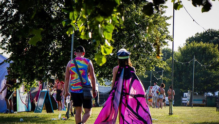 Festival land hire in Hertfordshire