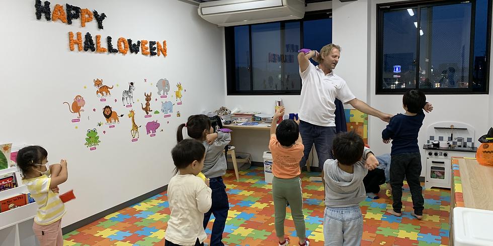 【ハロウィン限定_幼稚園生向け】英語体験レッスン