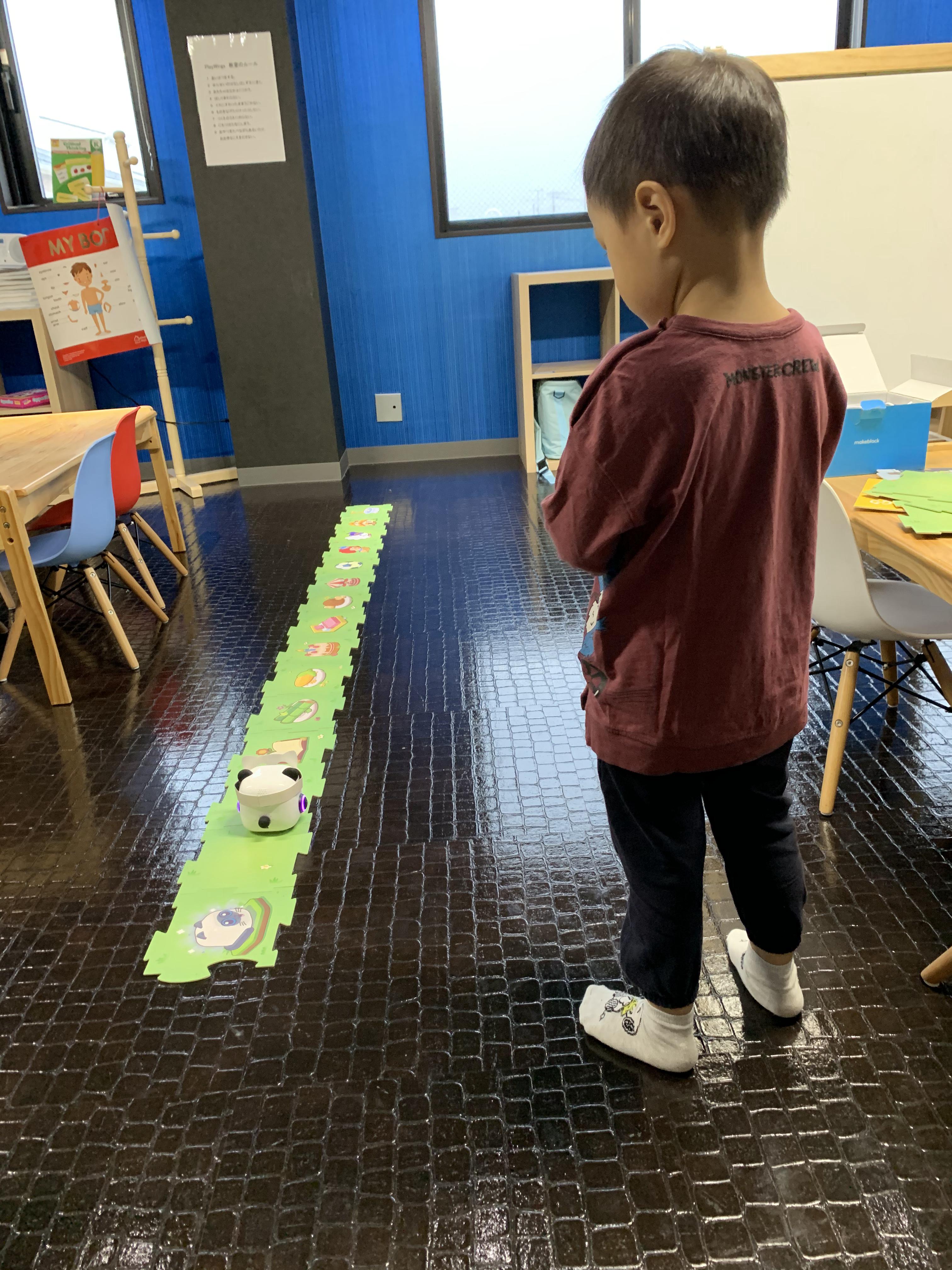 幼稚園生プログラミング