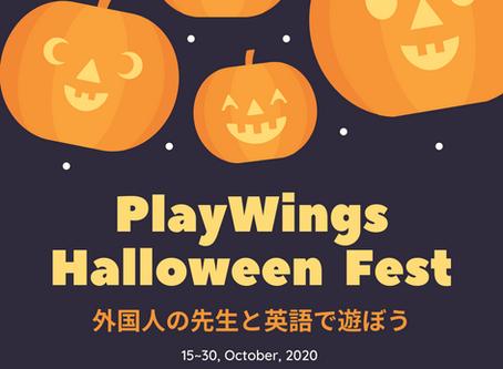 PlayWings Halloween Fest