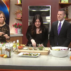 Drench returns to FOX 2 Cooking school