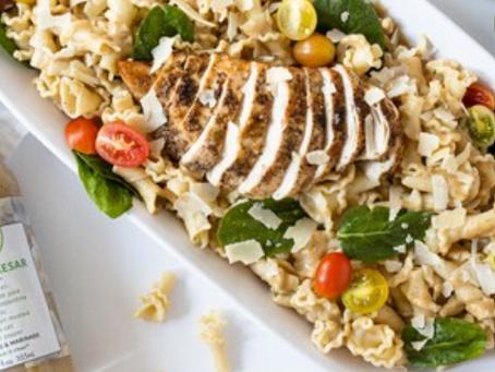 Vegan Caesar Pasta Salad by City Life Style West Bloomfield