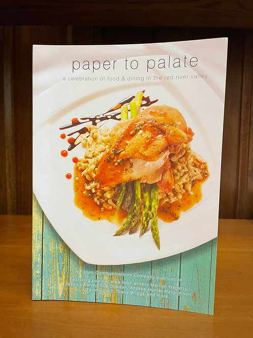 Paper to Palate Cookbook