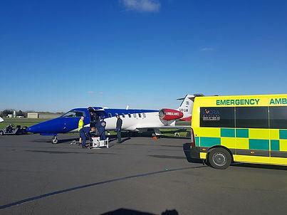 Air Ambulance UK Exrora