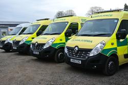 Ambulance Fleet Exora