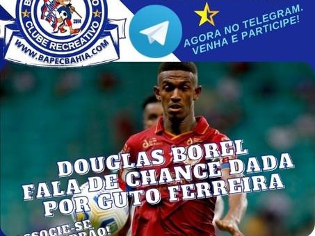 Surpresa no Triunfo: Douglas Borel ganha chance e se coloca à disposição de Guto