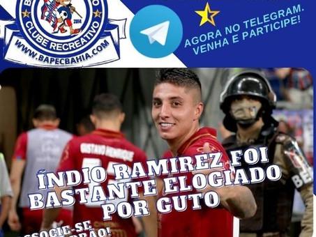 Oito meses depois: Índio Ramirez reestreia e ganha elogios do treinador Guto Ferreira