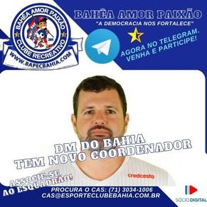 Nova Coordenação: Dr. Rodrigo Daniel é o novo coordenador médico do clube