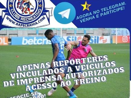 Imprensa no Treino: Jornalistas cobrirão o treino do Tricolor na Fonte Nova