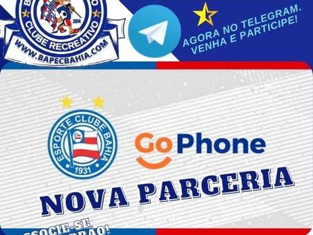 Bahia + GoPhone: Esquadrão fecha parceria com plataforma de proteção de smartphones