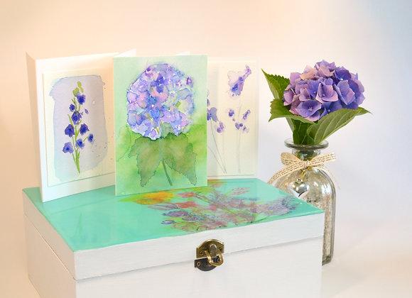 Teal Bouquet Box