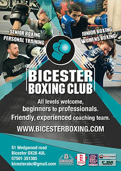 Bicester Village Professional Amateur Boxing England Boxing Affiliated Surrounding villages Facebook Instagram Social media Parking Sparring Licensed Competition Youth BBBofC Full time Coaching Kickboxing Muay Thai mma Gyms Classes exercise fitness