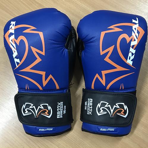Rival RS11V Evolution Sparring Gloves - Blue