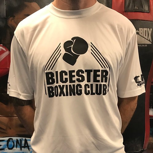 Bicester Boxing Adult t-shirt - White