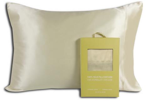 Champagne Silk Pillowcase