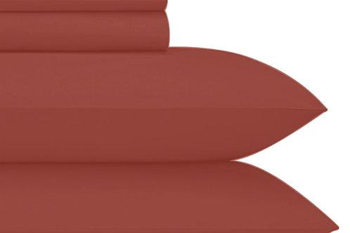 Crimson Cotton Sheets