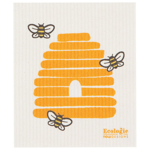 Bee Frenzy Swedish Dishcloth