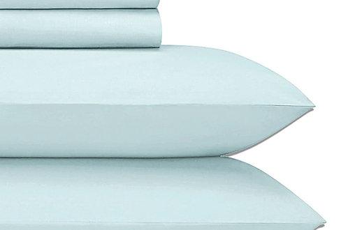 Aqua Cotton Sheets