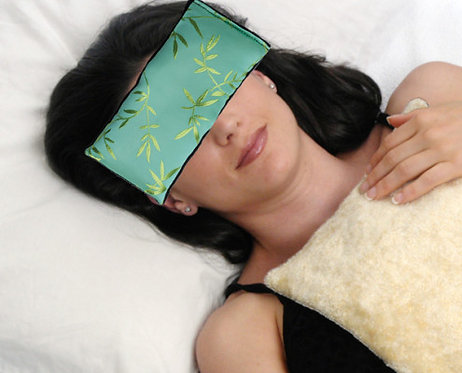Eye Pillow Aqua Bamboo