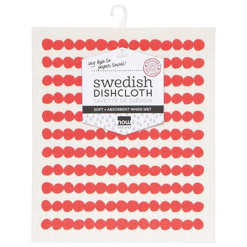 Red Swedish Dishcloth