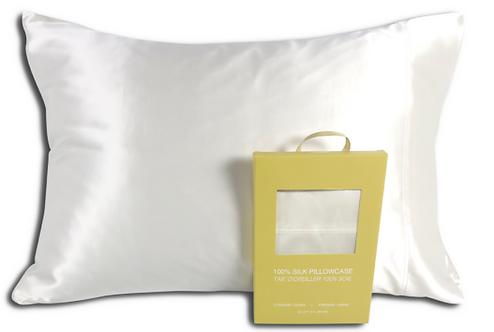 Dove Silk Pillowcase
