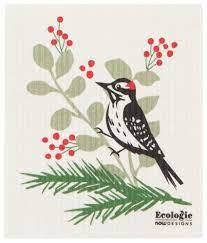 Woodpecker Swedish Dishcloth