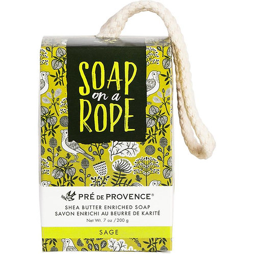 Sage Soap on a Rope