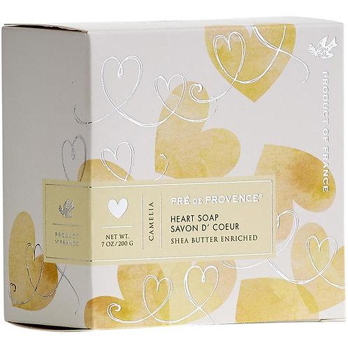 Camelia Heart Soap