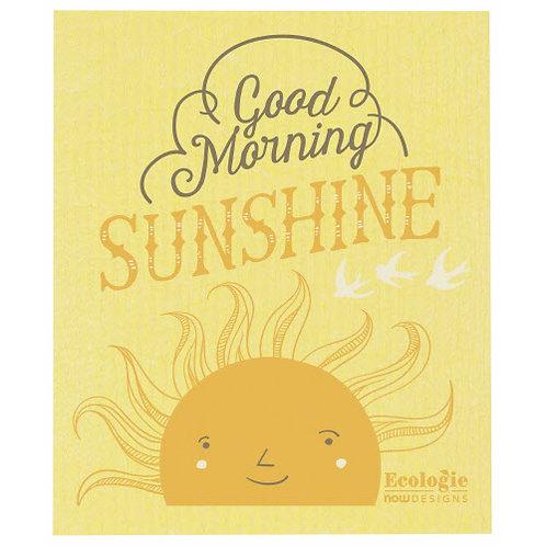 Good Morning Sunshine Swedish Dishcloth