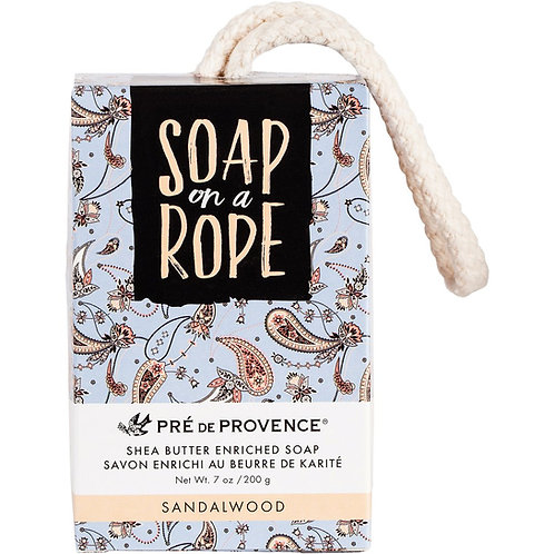 Sandalwood Soap on a Rope