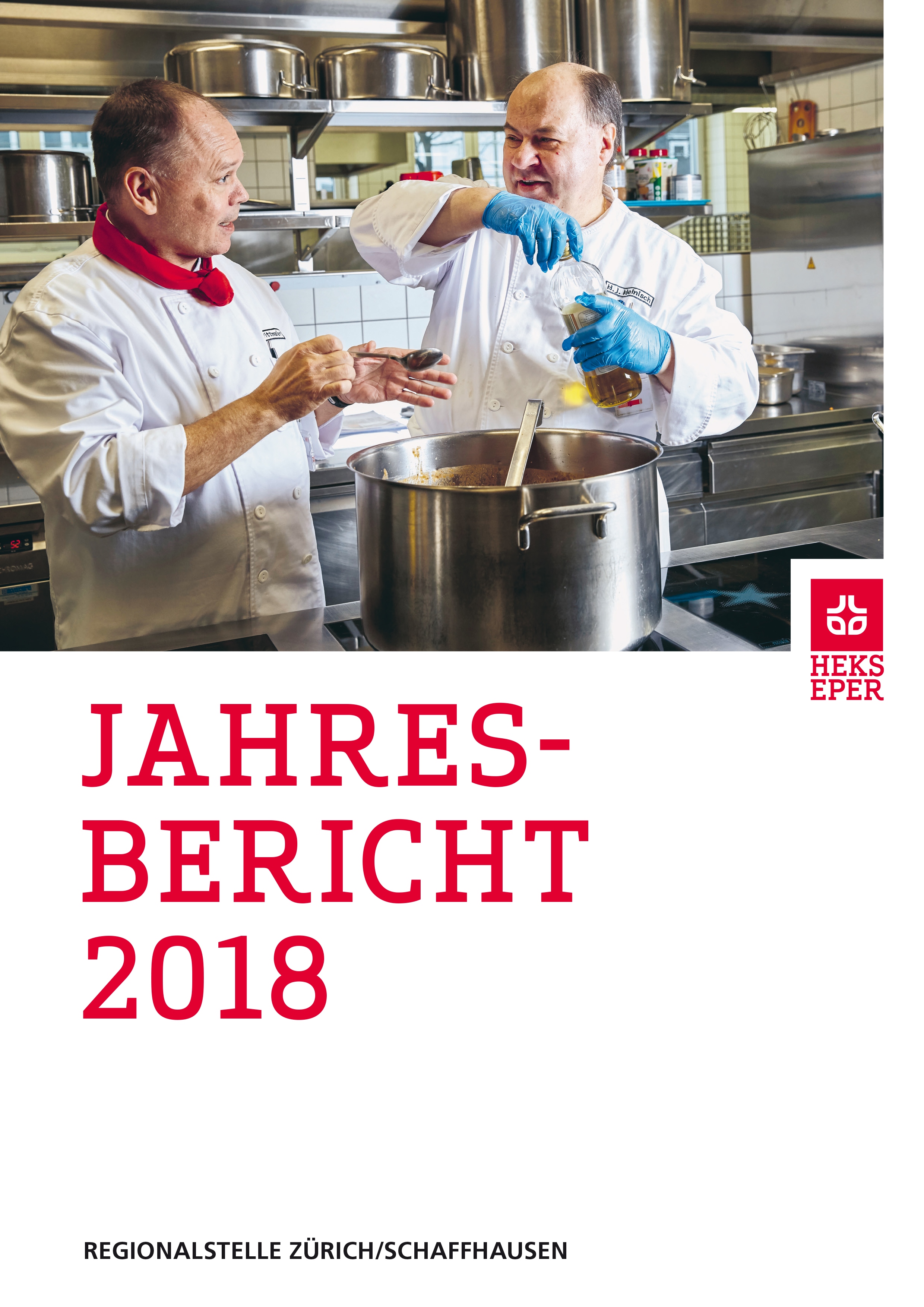 Jahresbericht HEKS Zürich