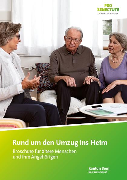 Flyer Pro Senectute Kanton Bern