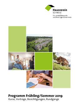 Kursprogramm Hausverein