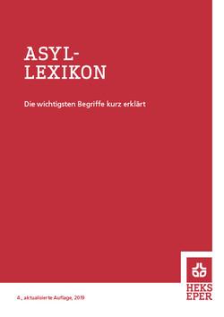 HEKS Asyllexikon