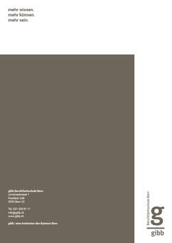 Imagebroschüre gibb