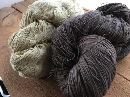 ハマゴウ 綿刺し子糸
