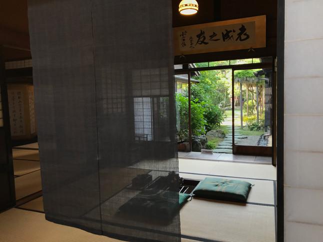 旧小澤家住宅での作品展示