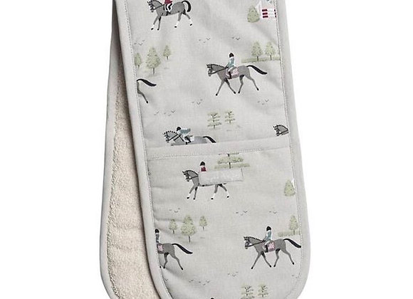 Horse Double Oven Glove