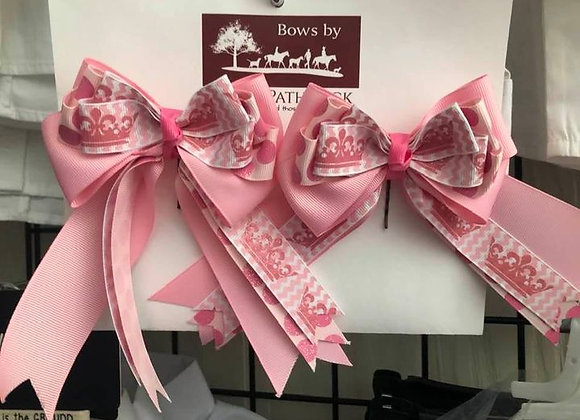 Pretty In Pink Show Bow