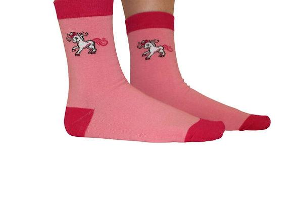 Bell And Bow Logo Socks children