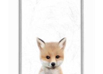 Baby Fox Animal Kids Painting