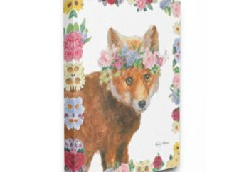 Flowers and Fox