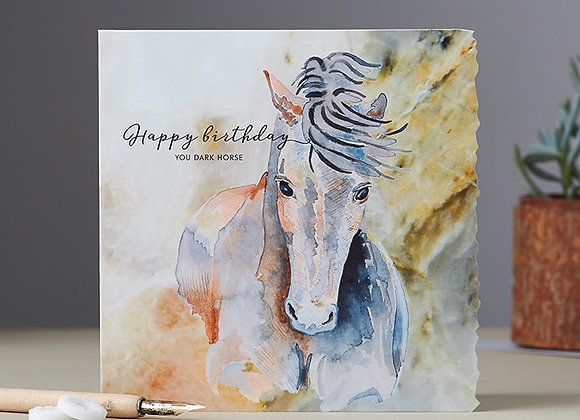 Happy birthday – you dark horse