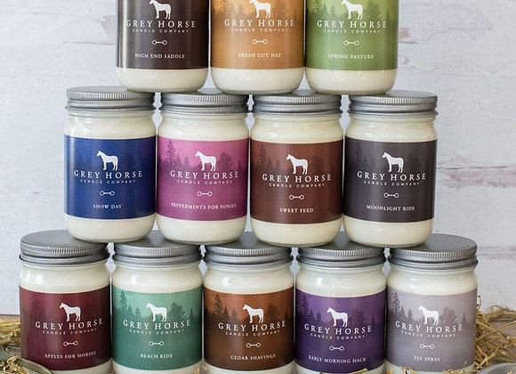 Grey Horse Co Candle