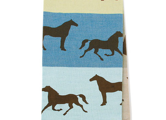 Towel-Equus Blue