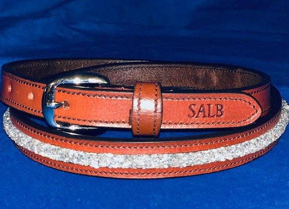 White Rope Belt