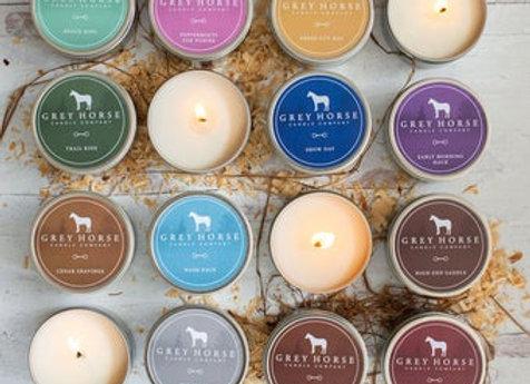 Grey Horse Co Tin Candle