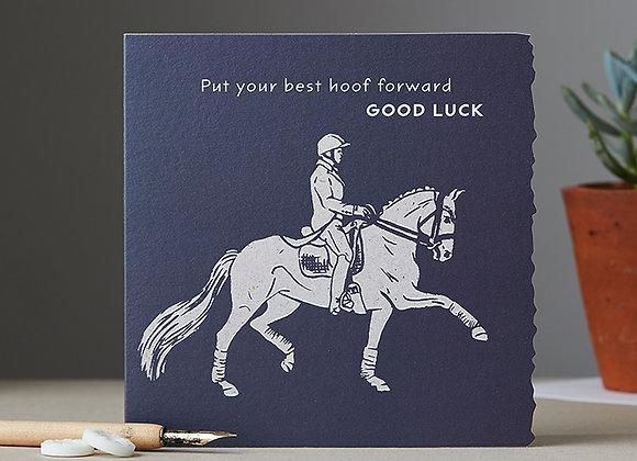 best hoof forward Good Luck